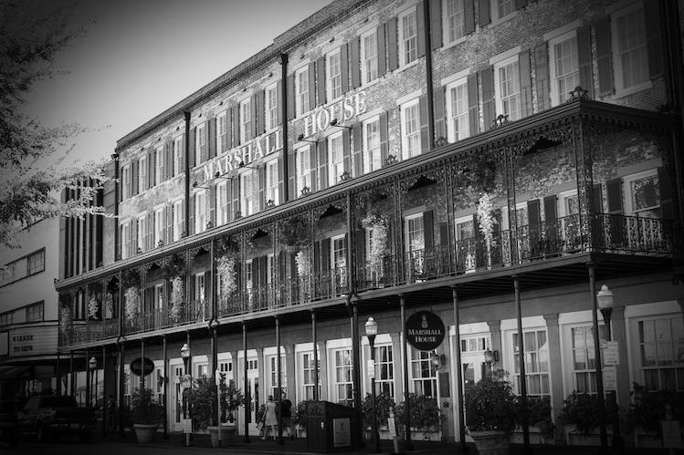 The Marshall House Was Originally Built In 1851 And Is Said To Be Oldest Hotel Savannah Also Used As A Civil War Hospital