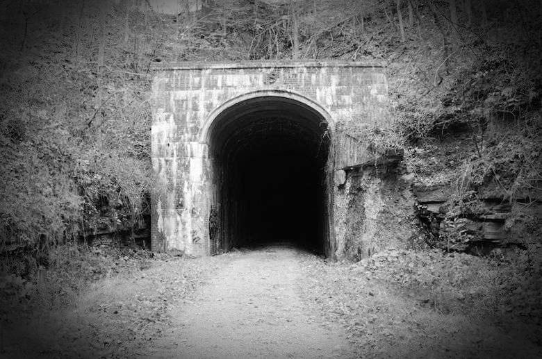 North Bend Rail Trail Tunnel No 19, Ritchie County