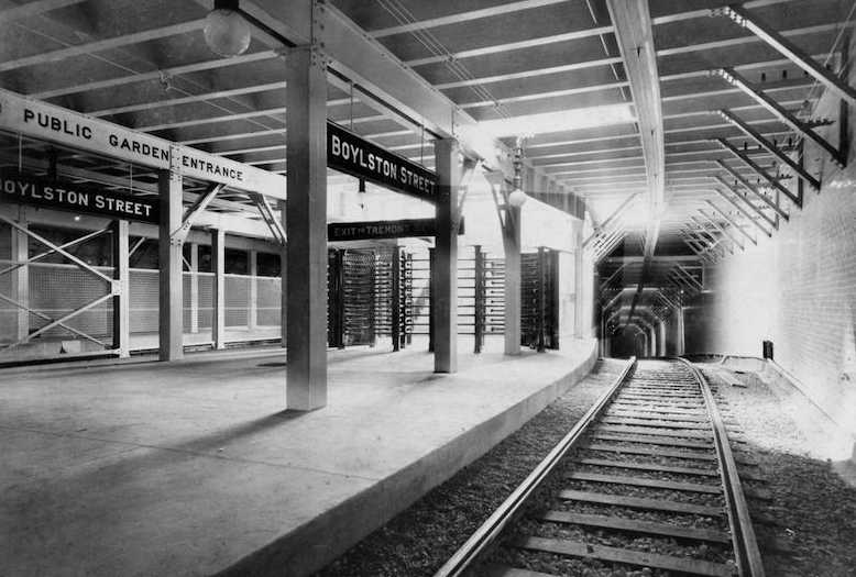 Boylston Street Station