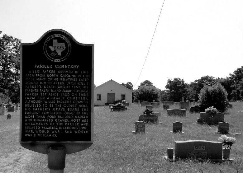 Parker Cemetery, Grapeland