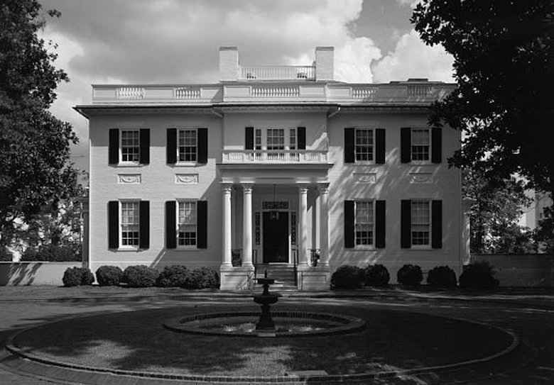 The Virginia Governor's Mansion