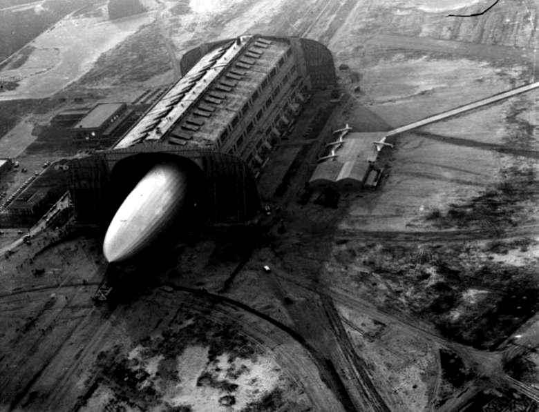Hindenburg Hangar, Lakehurst, Ocean County