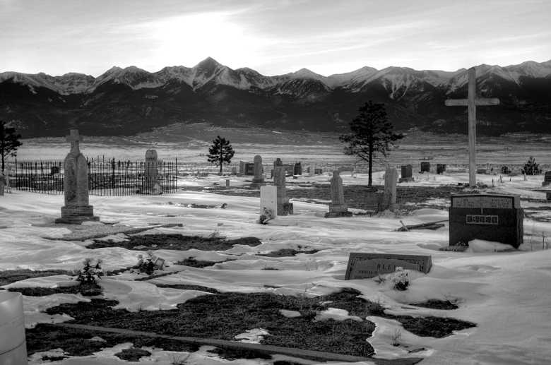 Silver Cliff Cemetery, Silver Cliff CO