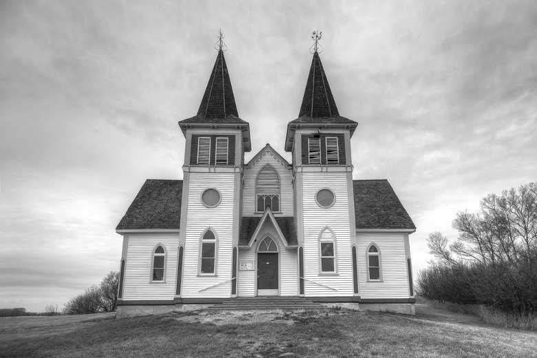 Bekevar Church, near Kipling