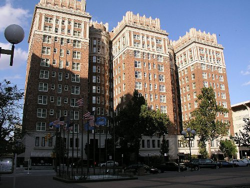 Skirvin Hotel Downtown Oklahoma City