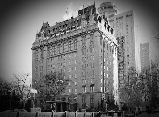 Fort Garry Hotel Exterior