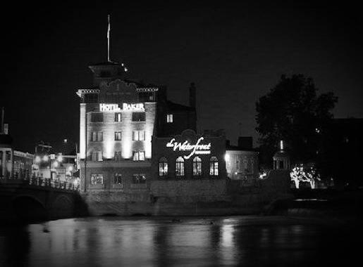 Hotel Baker At Night