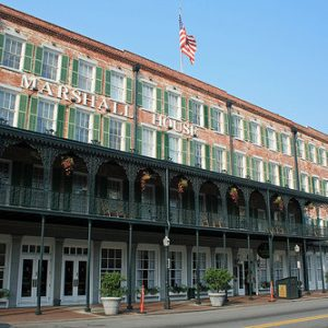 Marshall House Hotel Savannah