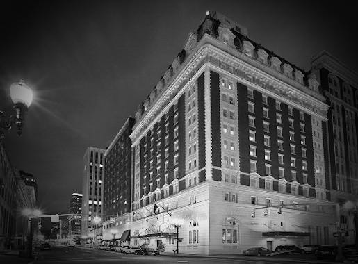 The Benson Hotel Night