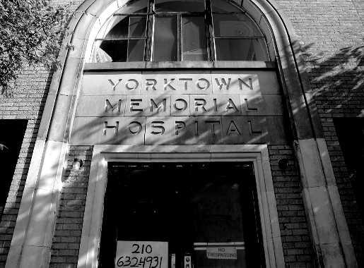Yorktown Hospital Entrance