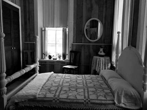 Old Lavaca Countu Jail Bedroom
