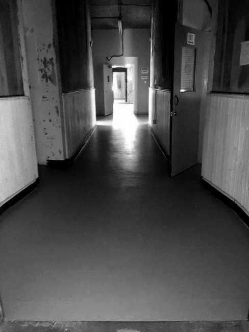 Old Lavaca County Jail Corridor