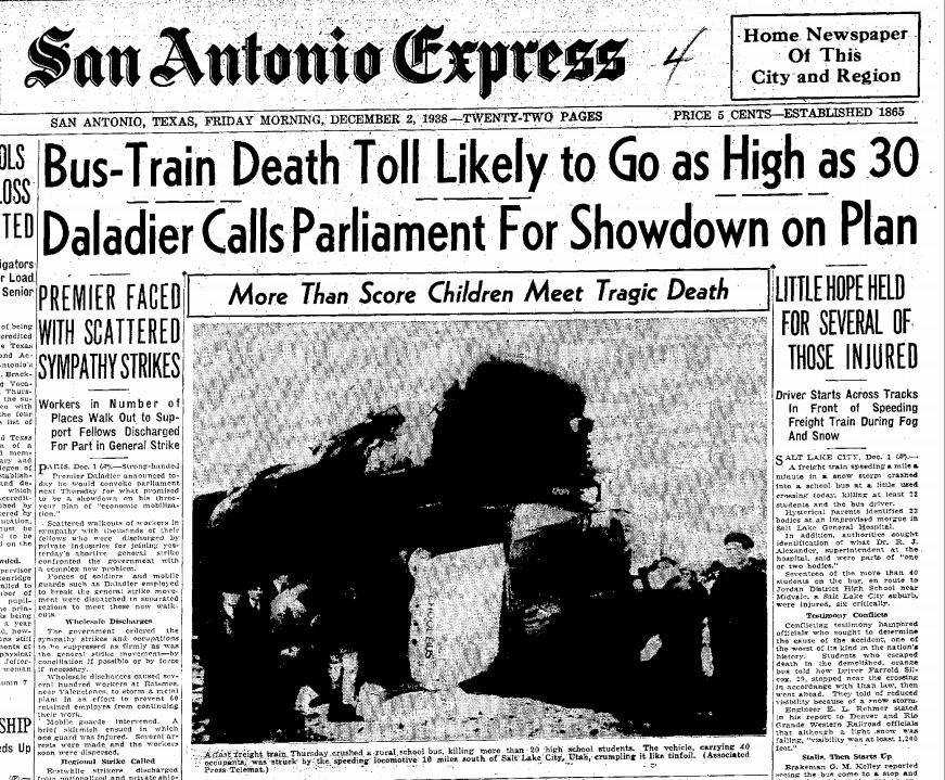 The San Antonio Railroad Accident